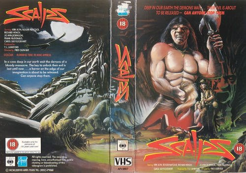 scalps british VHS sleeve