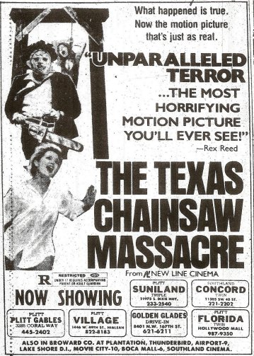 TEXAS CHAINSAW FEB 1981