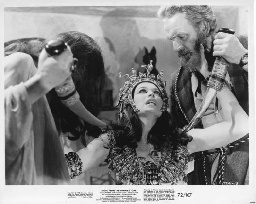 Blood from the Mummy's Tomb Valerie Leon Andrew Keir