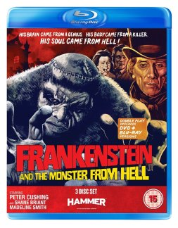 frankenstein and the monster from hell icon home entertainment blu-ray