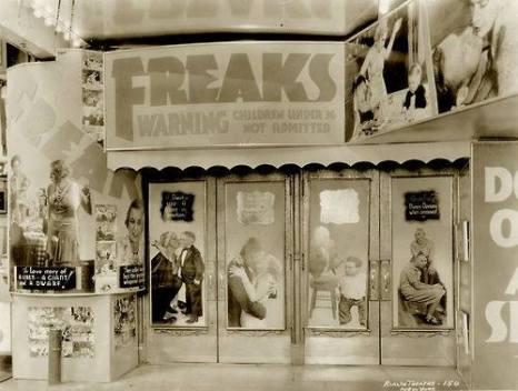 Freaks movie theatre