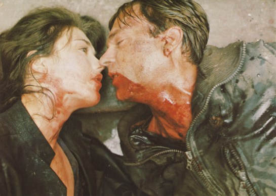 Isabelle Adjani and Sam Neill in Andrzej Zulawski's POSSESSION (