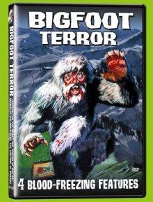 Bigfoot Terror 4 film DVD set
