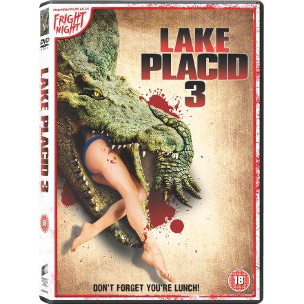 lake placid 3 UK DVD