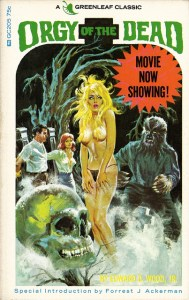 orgy of the dead greenleaf novel by ed wood