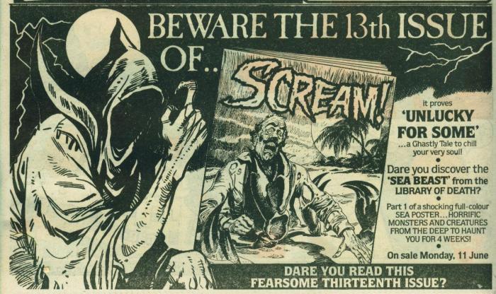Scream Comic ad 7