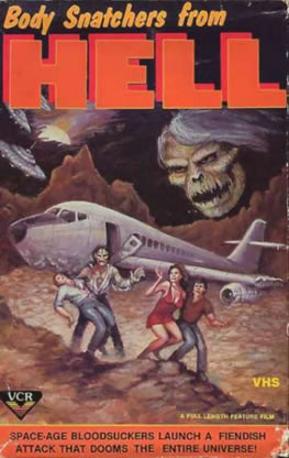 body snatchers from hell VCR VHS cover