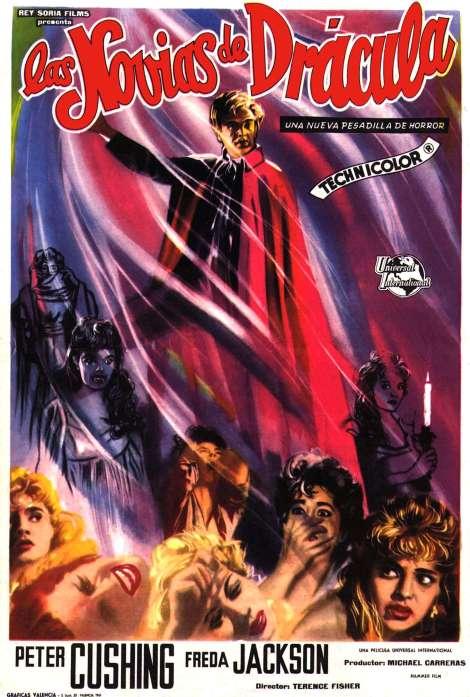 Brides-of-Dracula-Spanish-poster