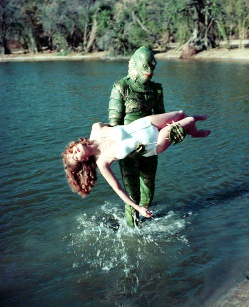 creature from the black lagoon colour pic