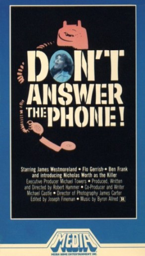 don't answer the phone media vhs front