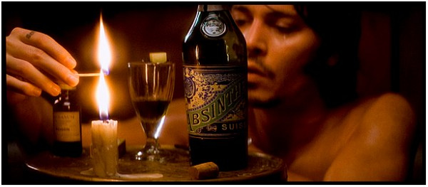 From Hell Johnny Depp absinthe