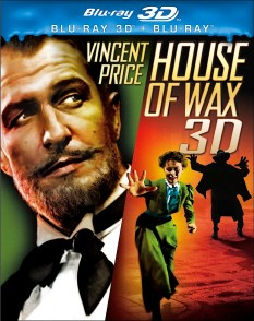 house of wax 3D blu-ray 3D front cover