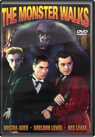 monster walks dvd