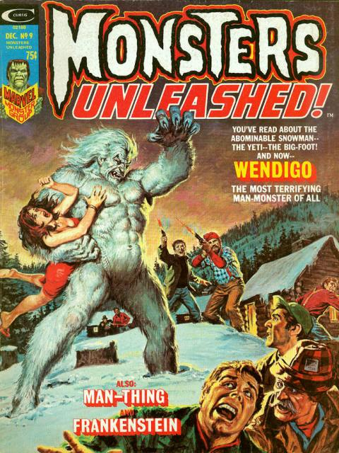 monsters_unleashed no.9 wendigo