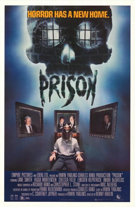 prison 1988 movie poster
