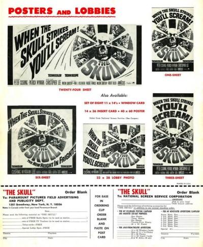 skull 1965 ad mats