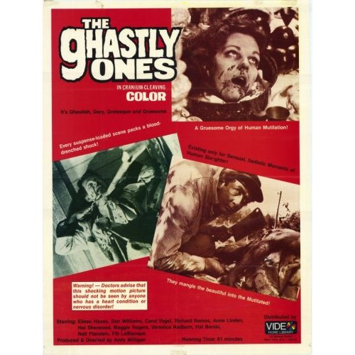 ghastly ones video ad