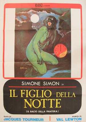 Il-figlio-della-notte-Cat-People-Italian-poster