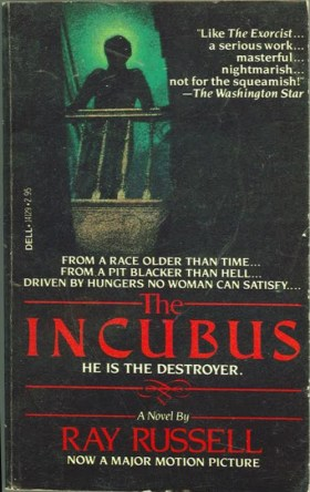 incubus ray russell dell paperback movie tie-in