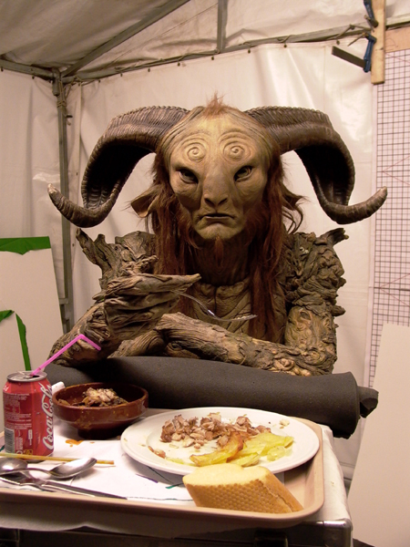 pan's labyrinth lunch break