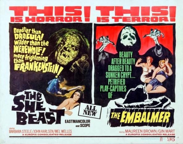 She Beast _ The Embalmer (Half Sheet)