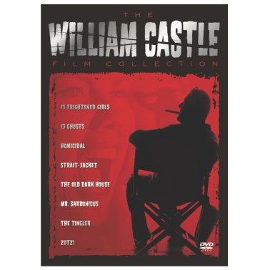william castle film collection dvd box set