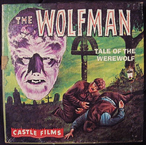 wolfman 1941 castle films 8mm