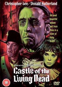 castle of the living dead dvd
