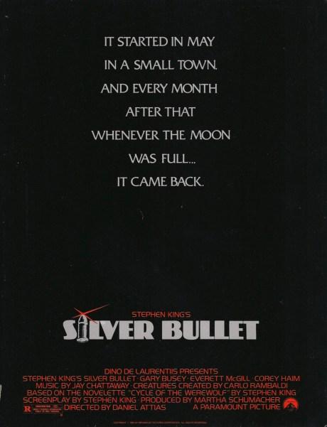 Silver Bullet 1