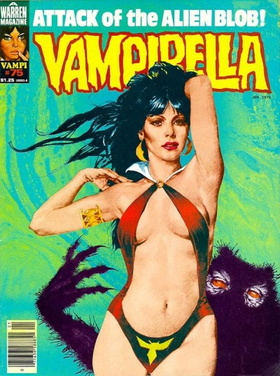 Vampirella 75 Attack of the Alien Blob