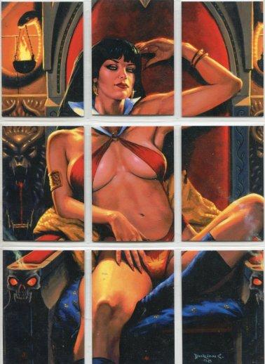 Vampirella Trading Cards Puzzle Set