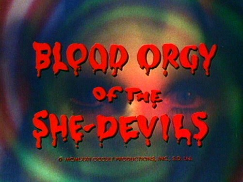 blood orgy of the she devils title