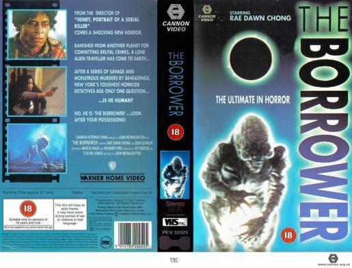 Borrower, The (1991) [UK VHS]
