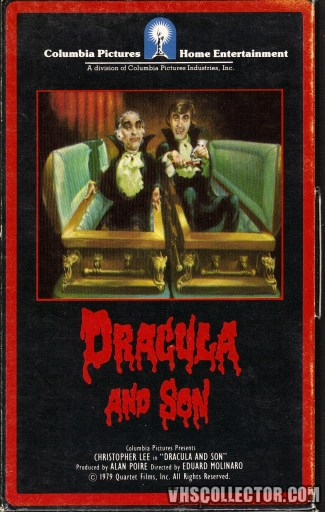 Dracula and Son - Front