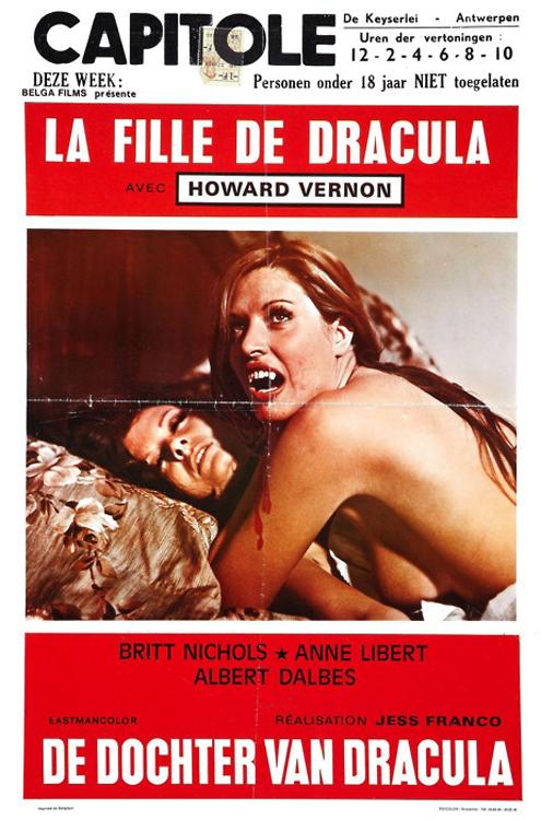 Franco's Daughter of Dracula (La Fille de Dracula)-1972