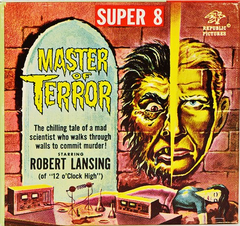 Master Of Terror Super 8mm film