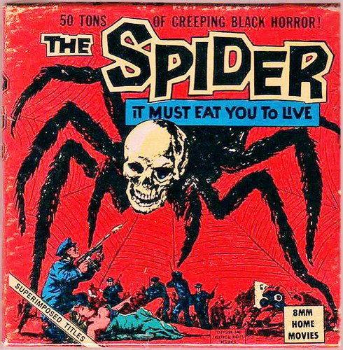 Spider(1958) 8mm movie box.