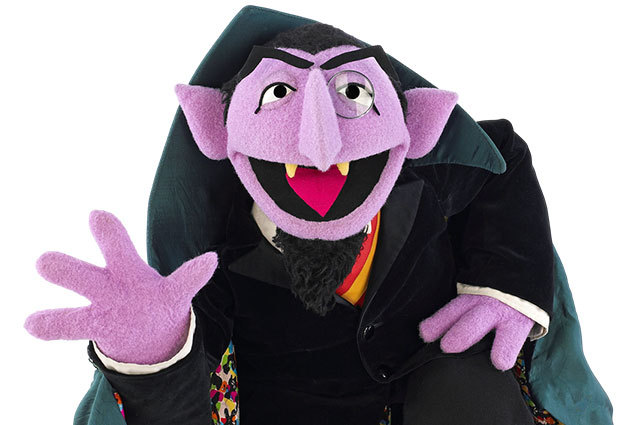 Count Von Count Sesame Street Tv Series Character Movies
