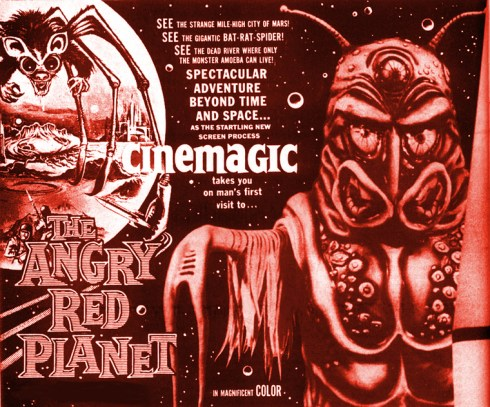 angry red planet cinemagic