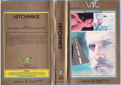 hitchhike British VTC vhs sleeve