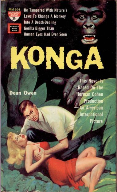 konga novelization dean owen monarch books