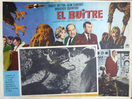 the vulture el buitre mexican lobby card