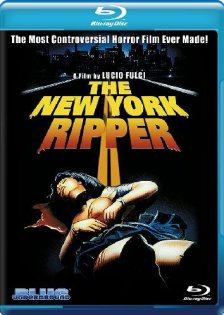 New York Ripper Blu-ray Blue Underground