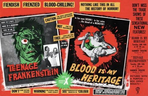 Teenage-Frankenstein-Blood-is-My-Heritage