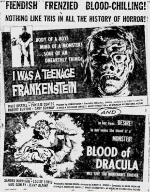 Teenage-Frankenstein-Blood-of-Dracula-ad-mat