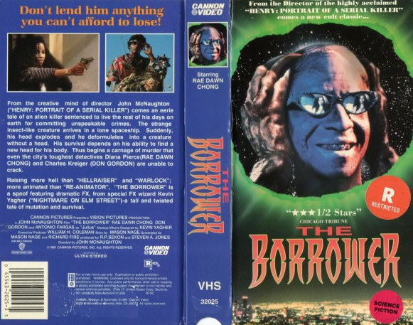 the borrower vhs cover