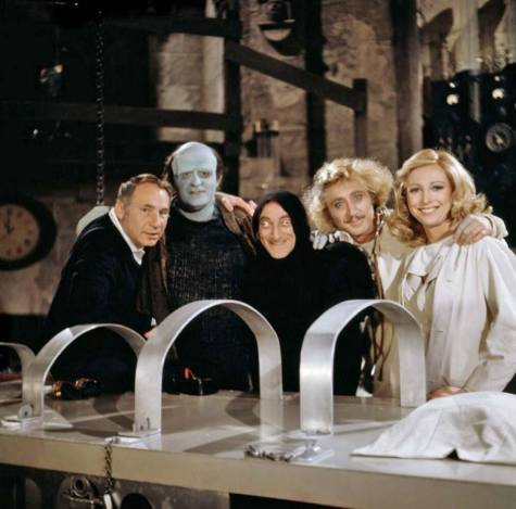 young frankenstein cast pic
