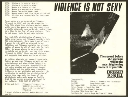 dressed-to-kill-protest-flyer