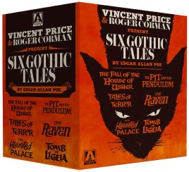 Six Gothic Tales Vincet Price Roger Corman