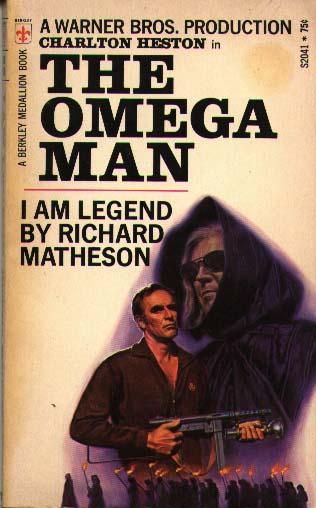 The Omega Man I Am Legend Richard Matheson novel cover